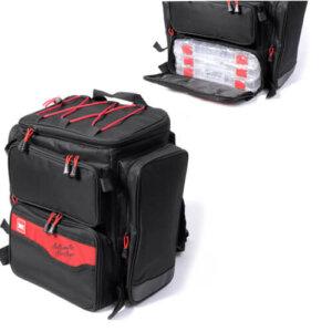 Рюкзак рыболовный с коробками Lucky John 40x38x23см