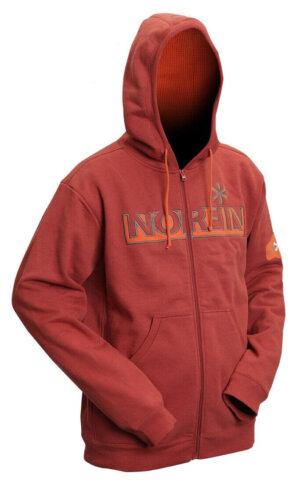 Куртка флисовая Norfin Hoody Red (терракот)