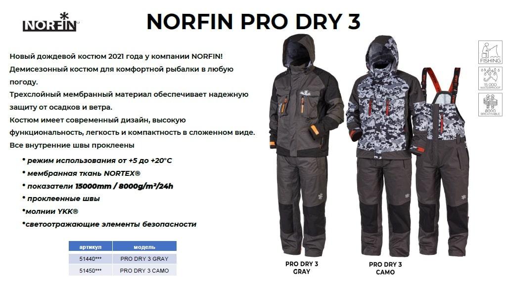 Демисезонная одежда Норфин